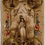 Joan of Arc prayer card (recto)