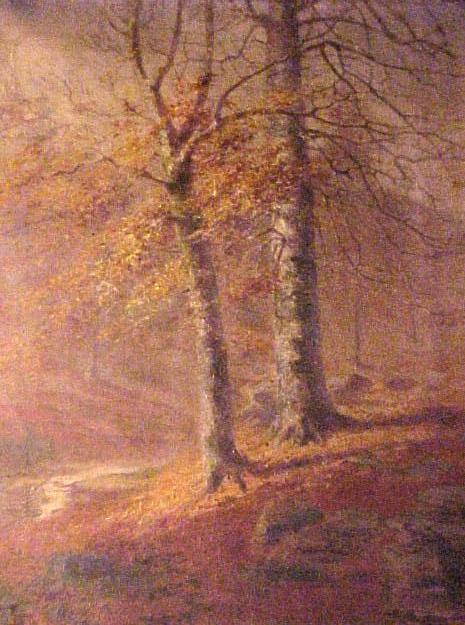 Misty Bright Autumn by Patty Thum, circa 1900 (1963.9.1)