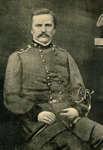 Simon Bolivar Buckner in his Confederate Uniform (c. 1860s). PRINT COLLECTIONS