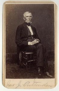 John J. Crittenden [Buford-Duke Family Photograph Album]