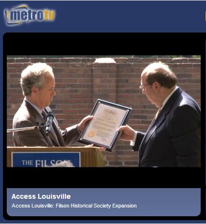 Groundbreaking by Access Louisville 5-8-2014