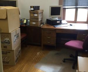 Jennie/Pritch desk move