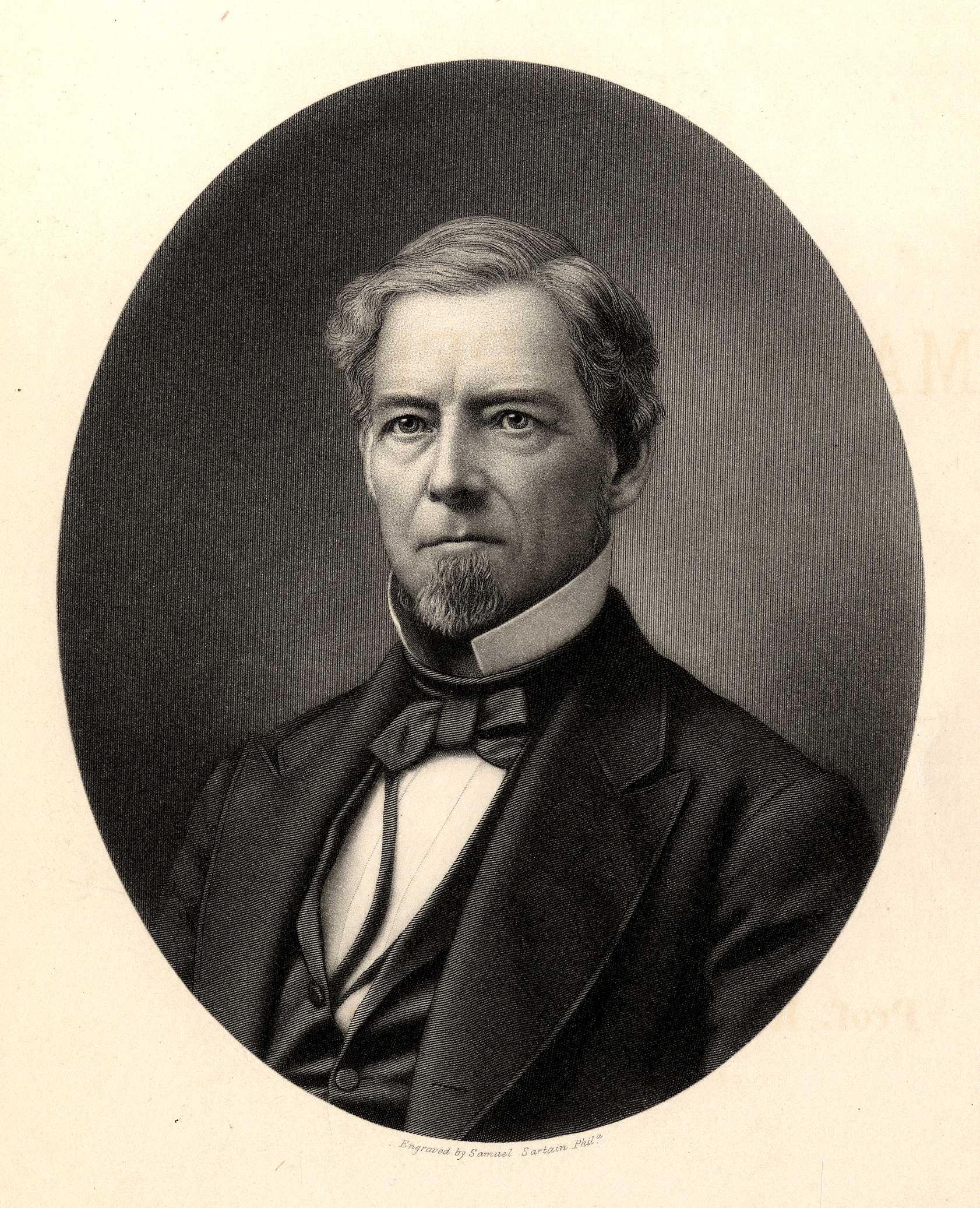 Lyman C. Draper Engraving