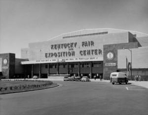 Kentucky Fair and Exposition Center at State Fairgrounds, Louisville, Kentucky. Ca. 1968